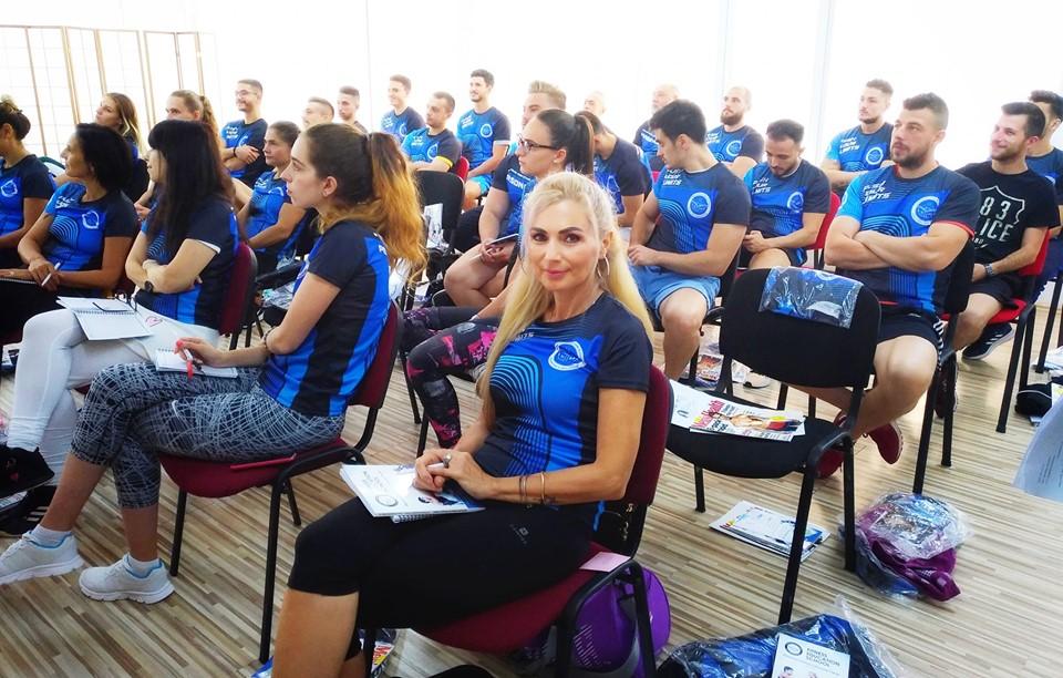 Luana Ibacka urmeaza cursurile Fitness Education School