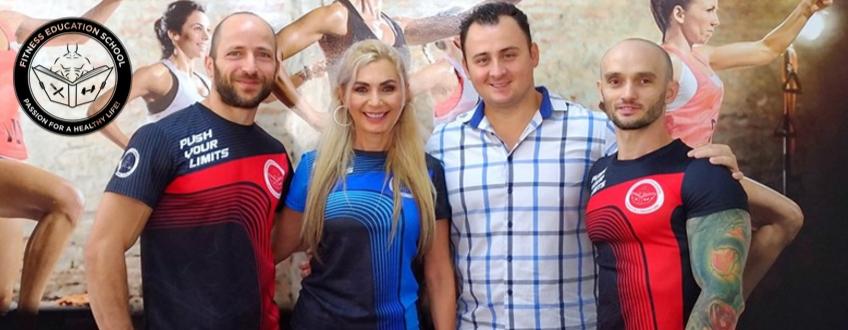 Luana Ibacka a ales Fitness Education School
